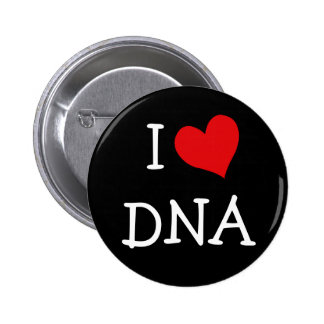 I Love DNA 2 Inch Round Button