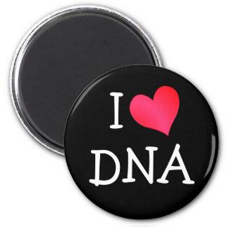 I Love DNA 2 Inch Round Magnet