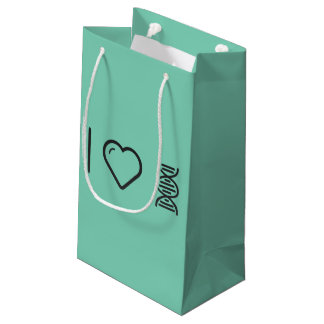 I Love Dna Cells Small Gift Bag