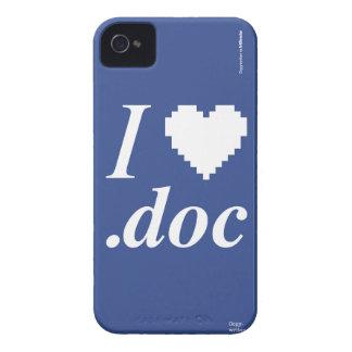 I Love .DOC Case-Mate iPhone 4 Cases