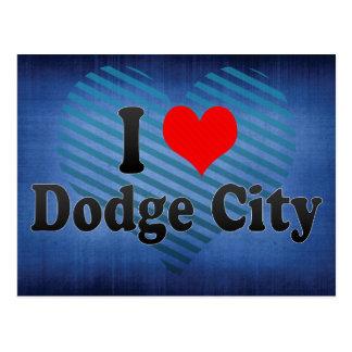 I Love Dodge City, United States Postcard