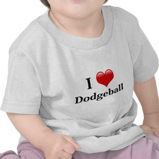 I Love Dodgeball Tshirts