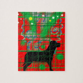 I love dog jigsaw puzzle