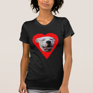 I Love Dogo Argentinos T-Shirt