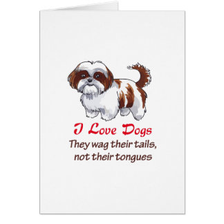 I LOVE DOGS CARDS