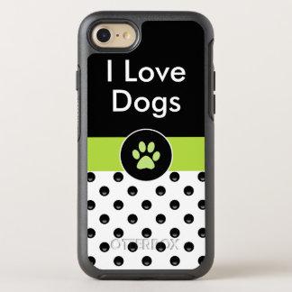 I Love Dogs Stylish OtterBox Symmetry iPhone 8/7 Case