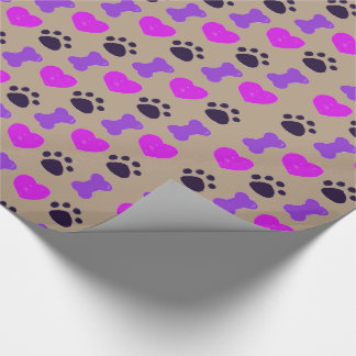 I love dogs wrapping paper