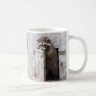 I LOVE DOING MORNINGS RACCOON MUG