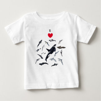 I love dolphins - Master the dolphins Baby T-Shirt