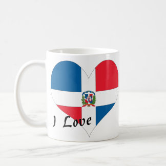 I Love Dominican Republic Coffee Mug