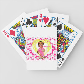 i love donald trump bicycle playing cards