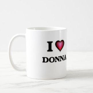 I Love Donna Coffee Mug