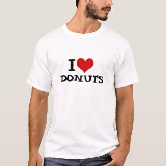 I Love Donuts Men's Basic T-Shirt