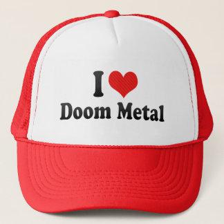 I Love Doom Metal Trucker Hat