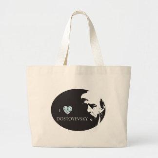 I Love Dostoyevsky Tote Bag