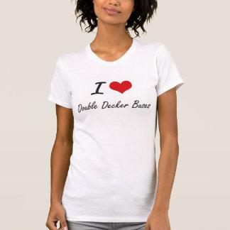 I love Double Decker Buses Tshirts