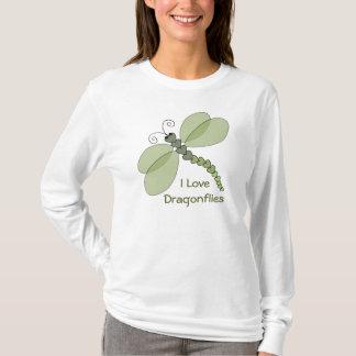 I Love Dragonflies Shirt