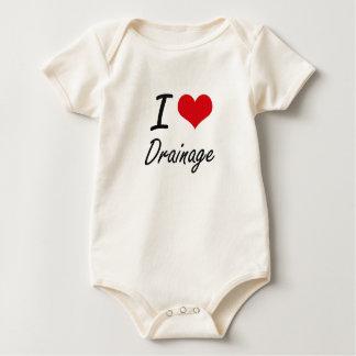 I love Drainage Baby Creeper