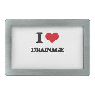 I love Drainage Belt Buckle