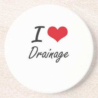 I love Drainage Beverage Coasters