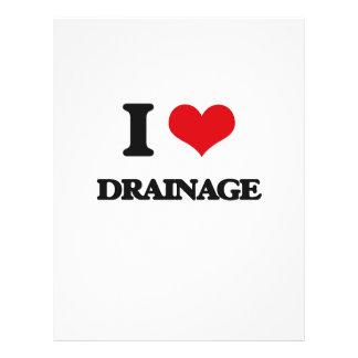 I love Drainage Flyers