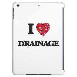 I love Drainage iPad Air Cases