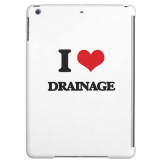 I love Drainage iPad Air Cover