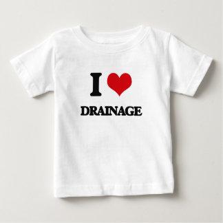 I love Drainage T-shirts