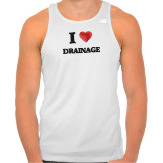 I love Drainage Tank Top
