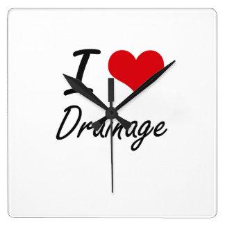 I love Drainage Wallclocks