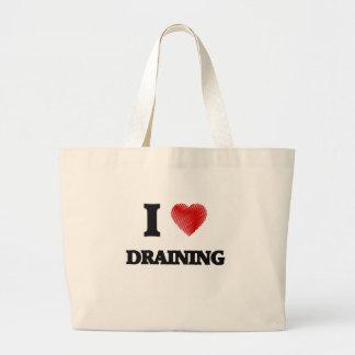 I love Draining Large Tote Bag