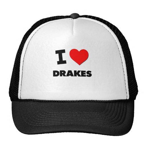 I Love Drakes Trucker Hats