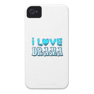 I Love Drama Case-Mate iPhone 4 Case
