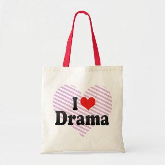 I Love Drama Tote Bag