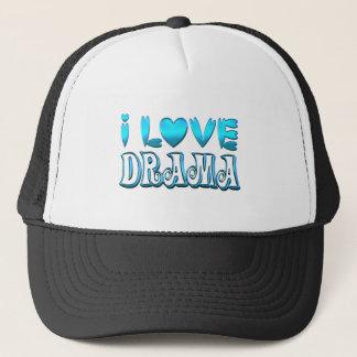 I Love Drama Trucker Hat