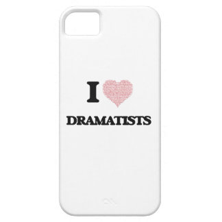 I love Dramatists (Heart made from words) Case For The iPhone 5