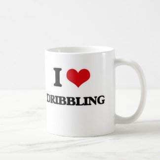 I Love Dribbling Coffee Mug