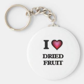 I love Dried Fruit Keychain