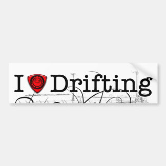 I love drifting RX-7 Bumper Sticker