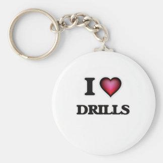 I love Drills Keychain