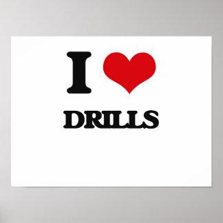 I love Drills Print