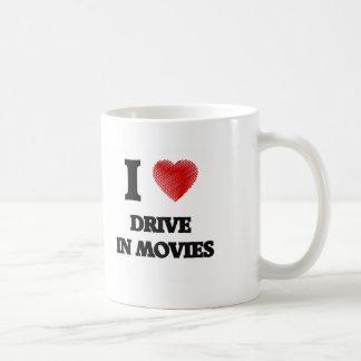 I love Drive In Movies Classic White Coffee Mug