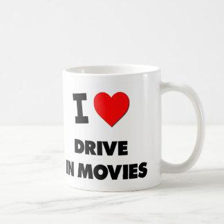 I Love Drive In Movies Coffee Mug