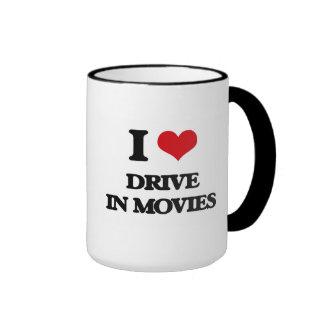 I love Drive In Movies Coffee Mugs