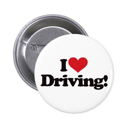I Love Driving! Pins