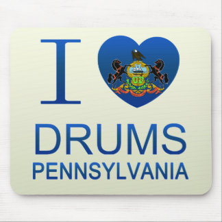 I Love Drums, PA Mouse Pads