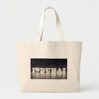 I Love Dubai Large Tote Bag