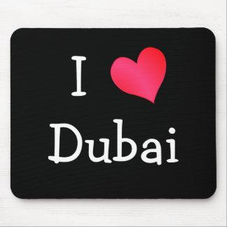 I Love Dubai Mouse Pad
