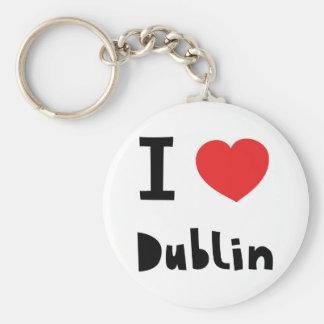 I love Dublin Keychain