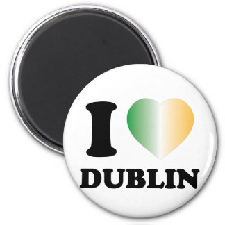 I Love Dublin Magnet